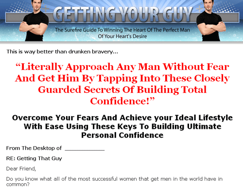 Getting your guy the surefire guide to winning the heart of the click here to view full sales page fandeluxe Image collections