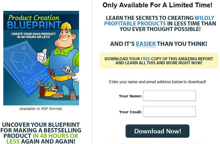Product creation blueprint plr ebook click here to view full sales page malvernweather Gallery