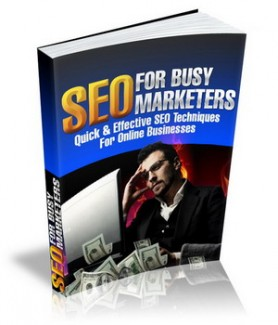 Seo for busy marketers mrr ebook fandeluxe Image collections