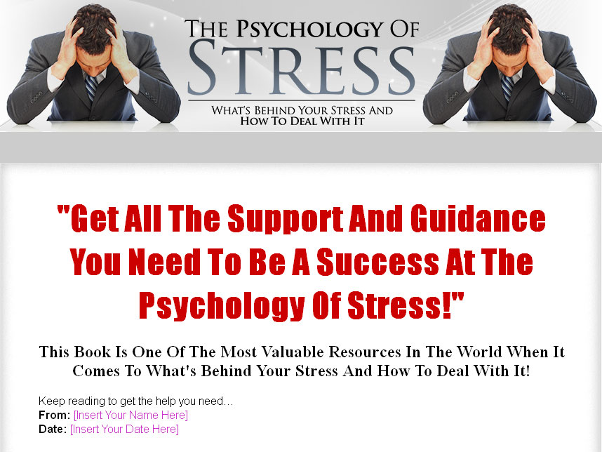 The psychology of stress give away rights ebook click here to view full sales page fandeluxe Choice Image