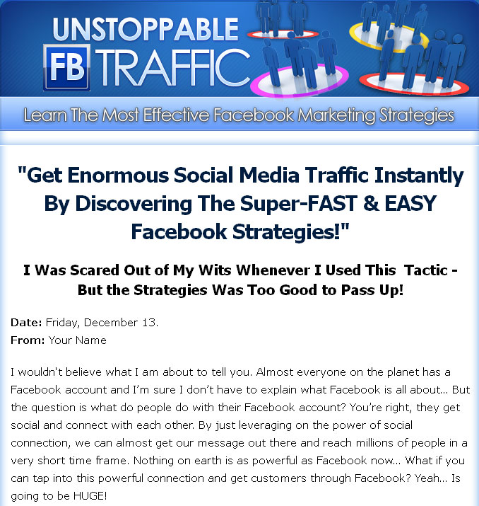 Unstoppable Facebook Traffic