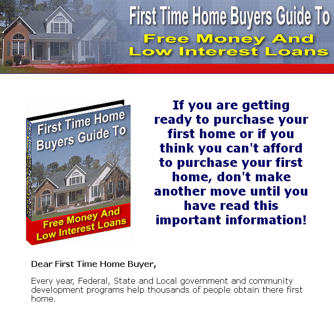 First Time Home Buyers Guide Resale Rights Ebook