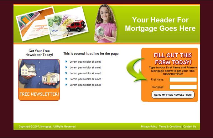 Mortgage PLR Autoresponder Email Series