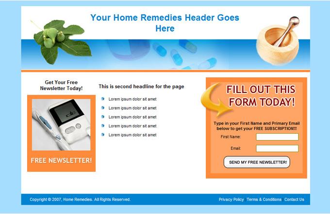 Home Remedy PLR Autoresponder Email Series