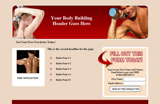 Body Building PLR Autoresponder Email Series