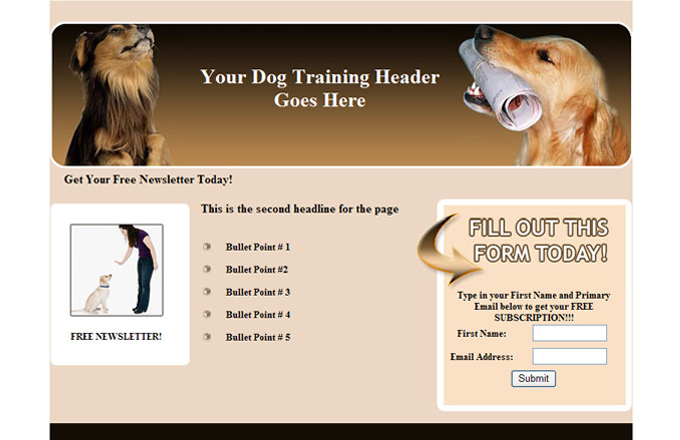 Dogs And Dog Training PLR Autoresponder Email Series