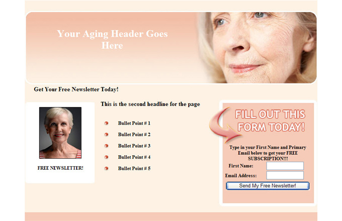 Aging PLR Autoresponder Email Series