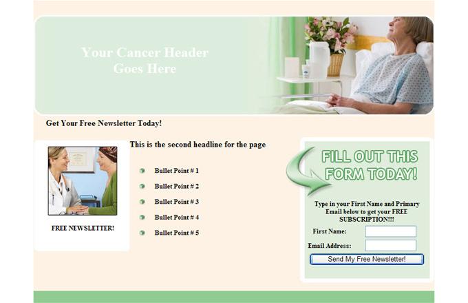 Cancer PLR Autoresponder Email Series