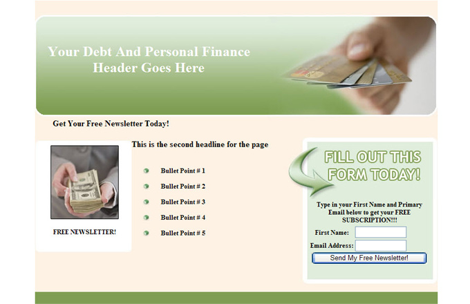 Debt And Personal Finance PLR Autoresponder Email Series