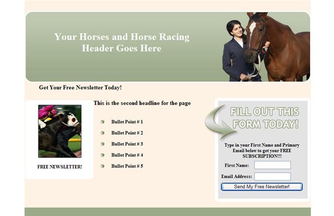 Horses PLR Autoresponder Email Series