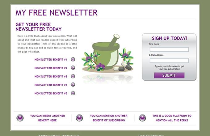 Alternative Medicine PLR Autoresponder Email Series