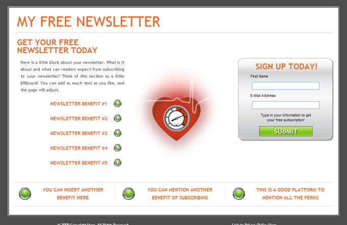 Hypertension PLR Autoresponder Email Series